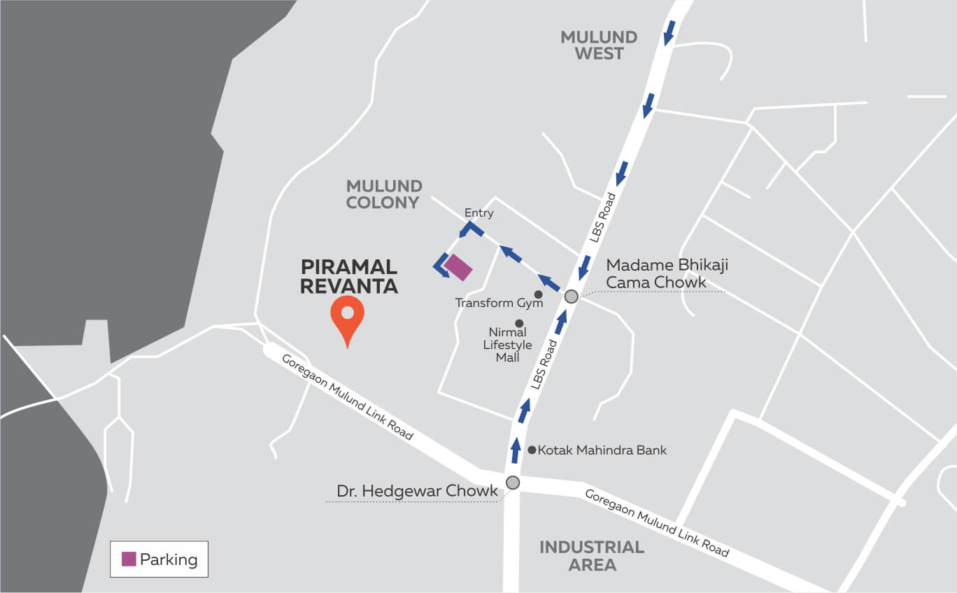 Piramal revanta Location
