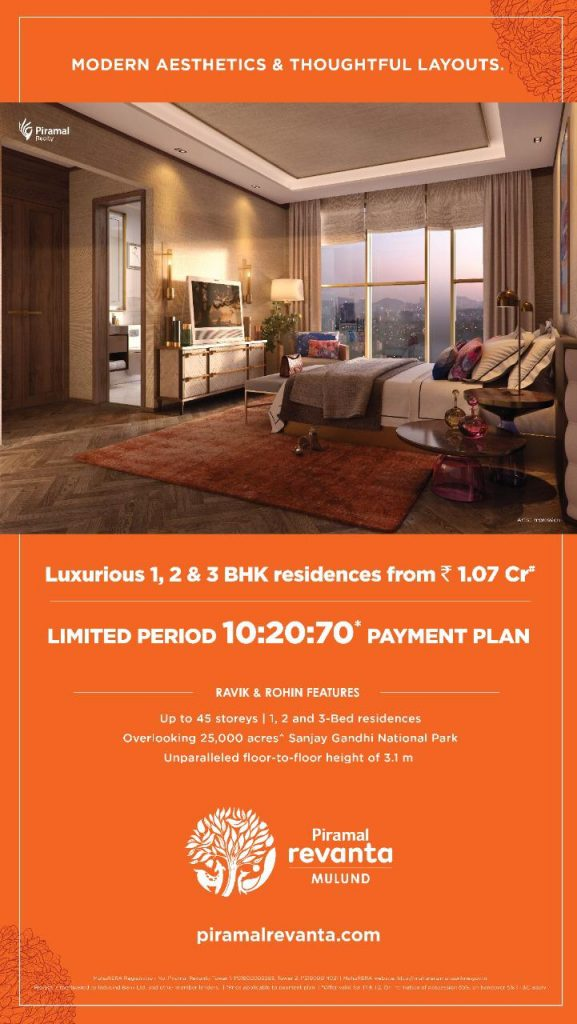 PIRAMAL REVANTA MULUND CALL 9958959555